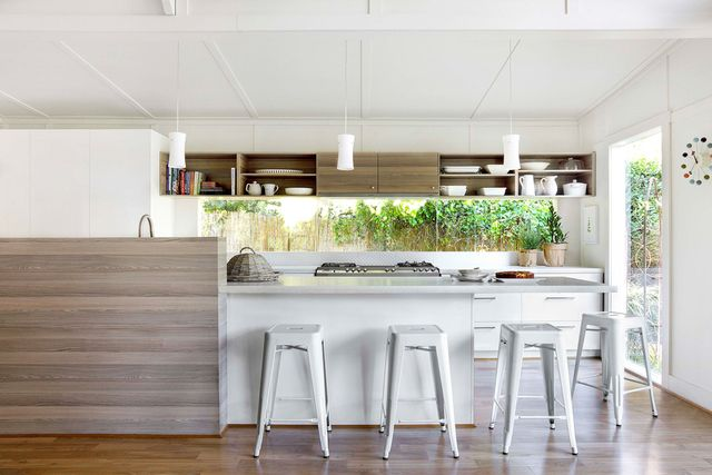 Inspiration 5 stunning white kitchens home beautiful for House beautiful kitchens