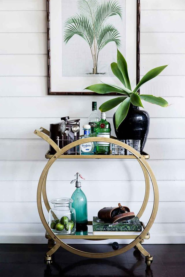 6 Essentials For Stocking Your Bar Cart Home Beautiful Magazine
