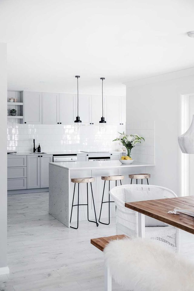 Get The Hamptons Look In Your Kitchen Home Beautiful