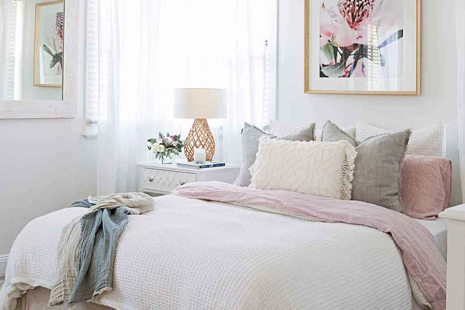 Room recipe hamptons style bedroom home beautiful - Home decor ideas images ...