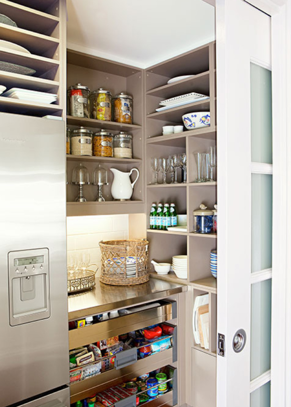 Attractive How To Design The Perfect Butleru0027s Pantry
