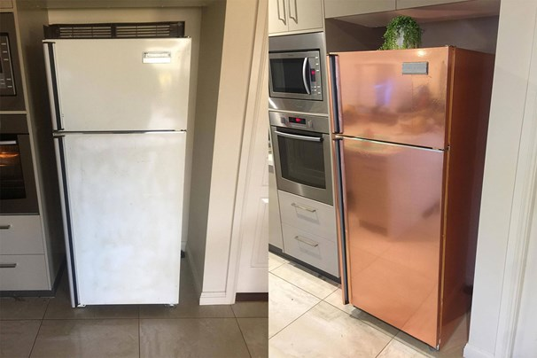 5 Kmart Hack That Transformed This Fridge Home