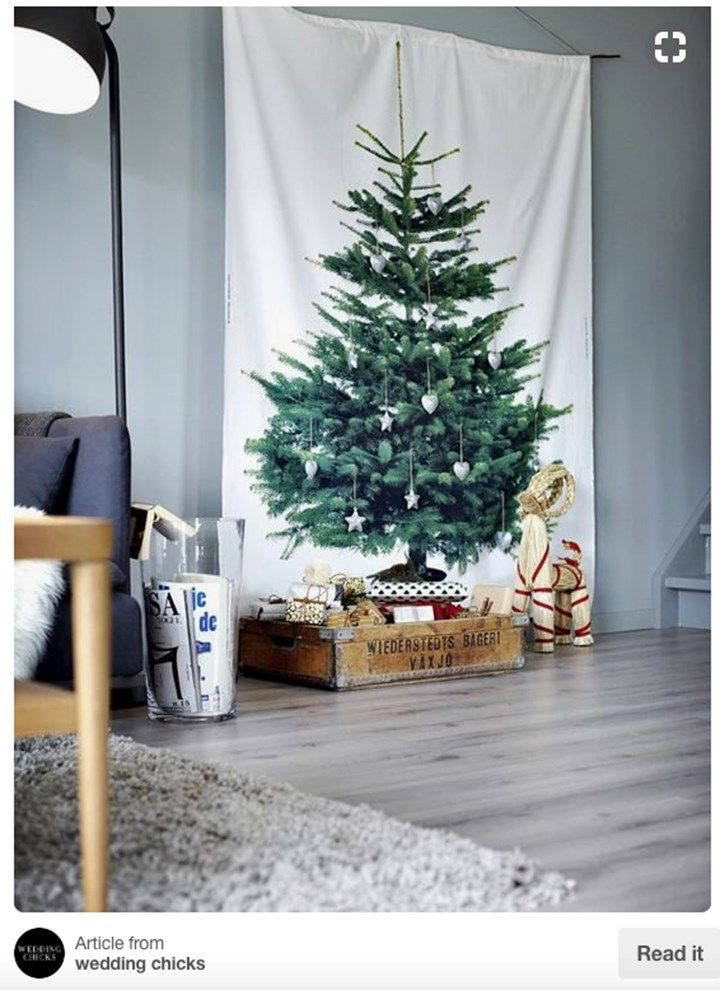 Christmas Tree Alternative.6 Creative Christmas Tree Alternatives Home Beautiful