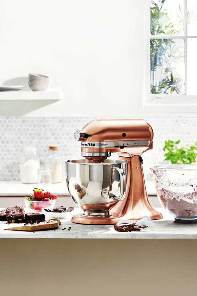 Marvelous Stop Everything Kitchenaid Has Released A Copper Stand Home Remodeling Inspirations Cosmcuboardxyz