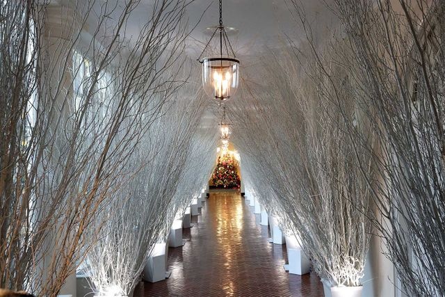 Melania Trump White House Christmas.Melania Trump Has Unveiled The Ott White House Christmas
