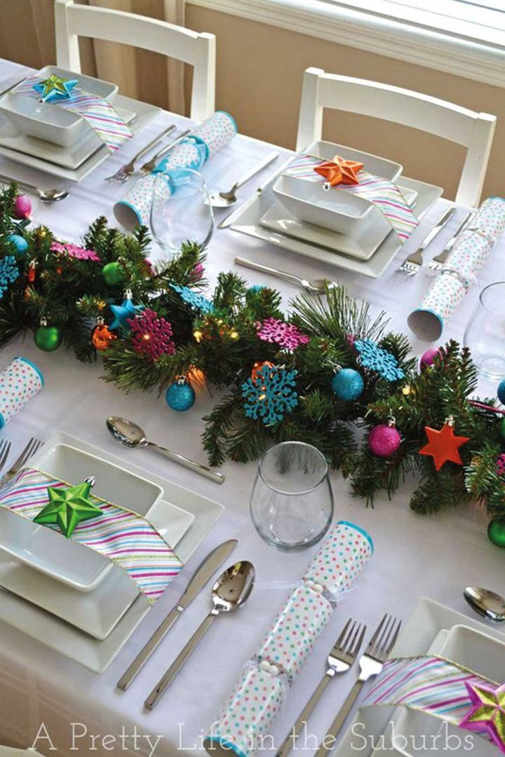 How To Dress Your Christmas Table In Style Home Beautiful Magazine