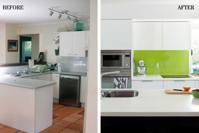 Superb Before After Kitchen Makeover In Record Time Home Best Image Libraries Thycampuscom