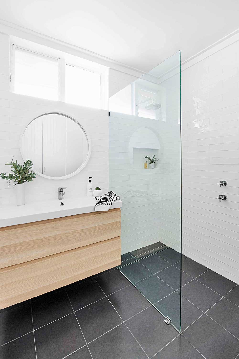 Before & After: Bathroom Makeover Renovated From Disaster