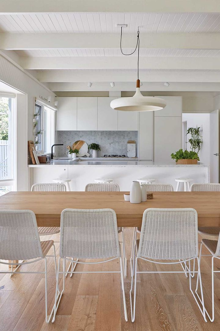 10 Ways To Style Up Your Timber Dining Table Home Beautiful Magazine Australia