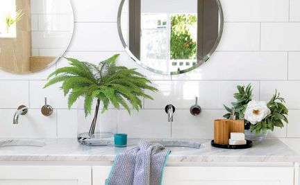 10 Brilliant Bathroom Ideas For An Instant Refresh Home Beautiful