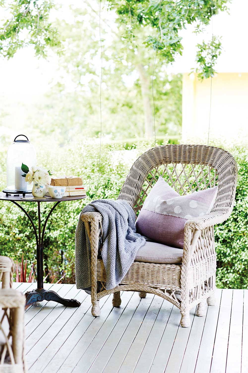 Looking For Decorating Ideas In Wicker Outdoor Furniture Home Beautiful Magazine Australia