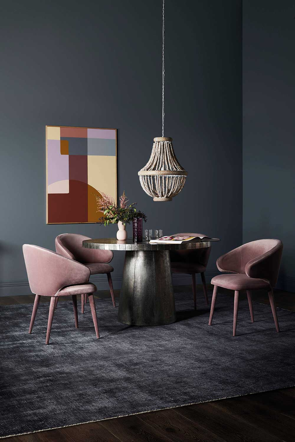 How To Pick The Perfect Pendant Light For Over Your Dining Table Home Beautiful Magazine Australia