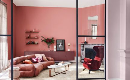 Latest Colour Combination For Living Room