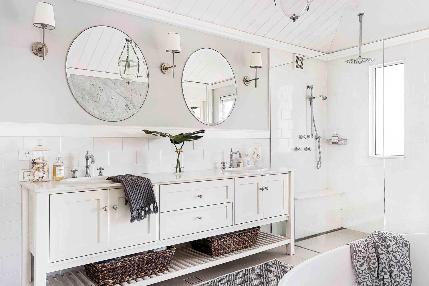 16 bathroom design ideas that work for a busy family