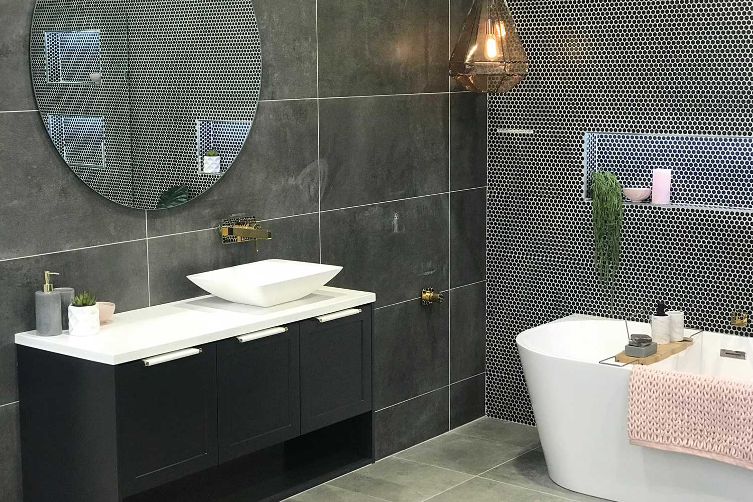 Latest Bathroom Design The latest in modern bathroom designs to add luxe on a budget