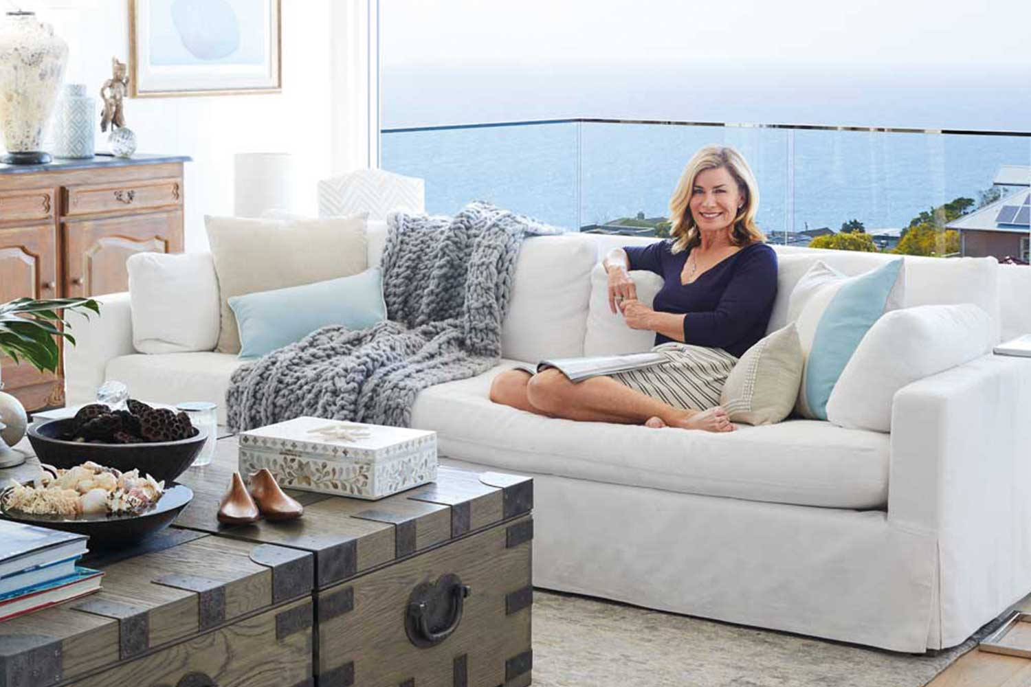 A tour of Deborah Hutton's newly renovated Hamptons home