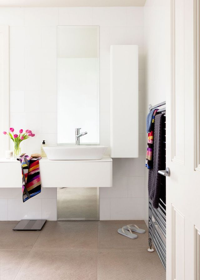 Project perfection: Chic family bathroom