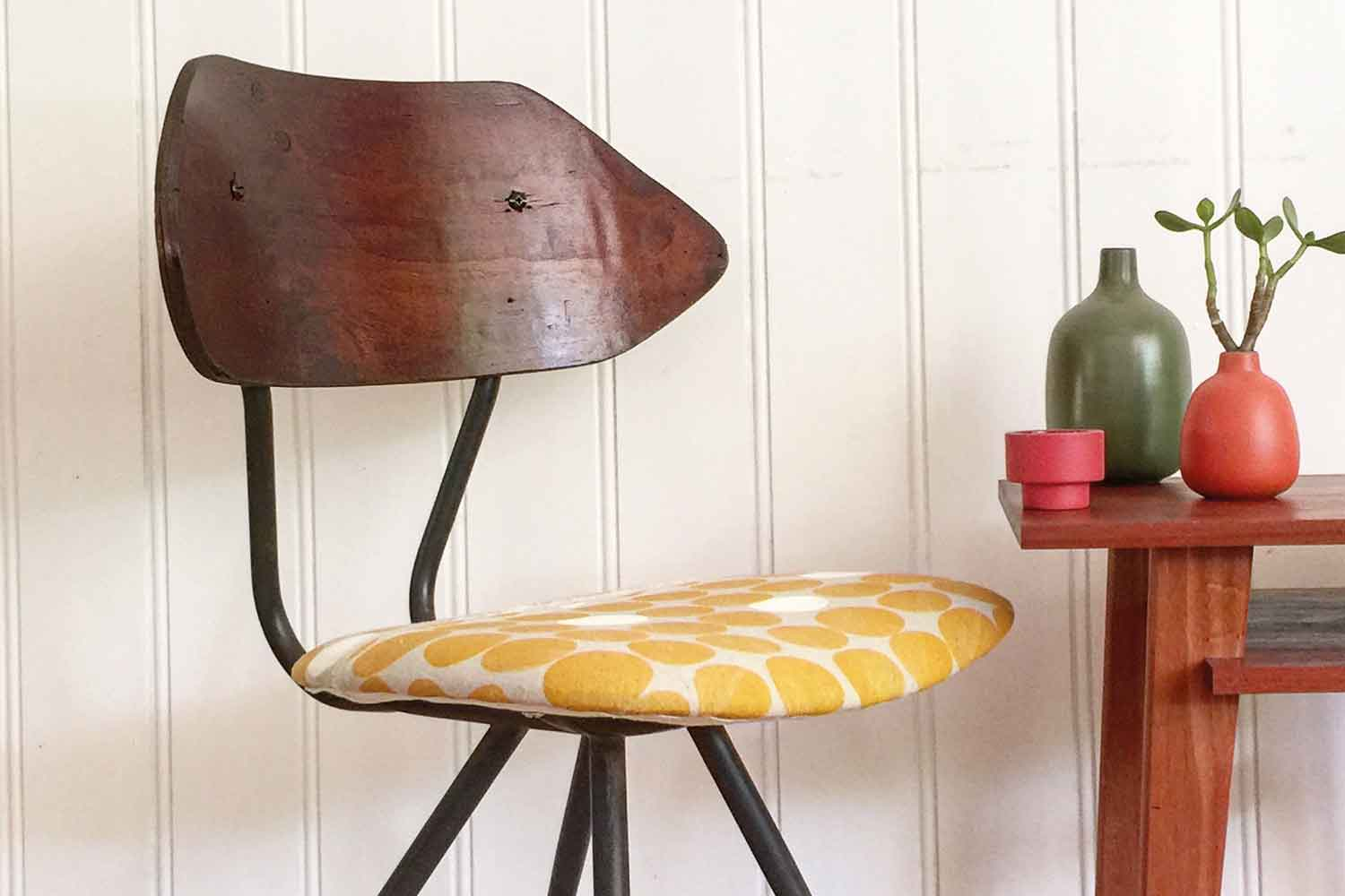 Rescue A Dated Dining Chair With A Little Diy Upholstery