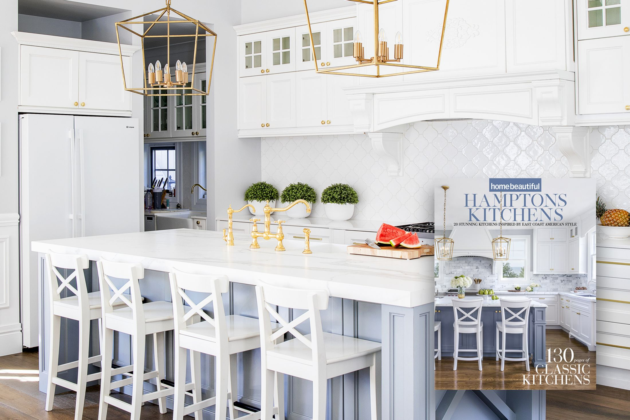 Home Beautiful S Hamptons Kitchens Collector S Edition