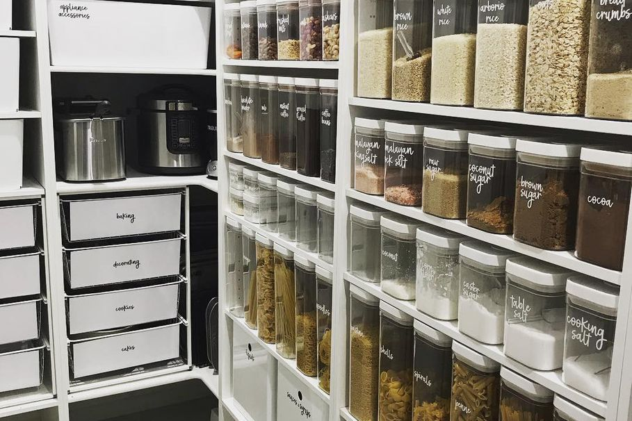See why this beautifully organised pantry went viral