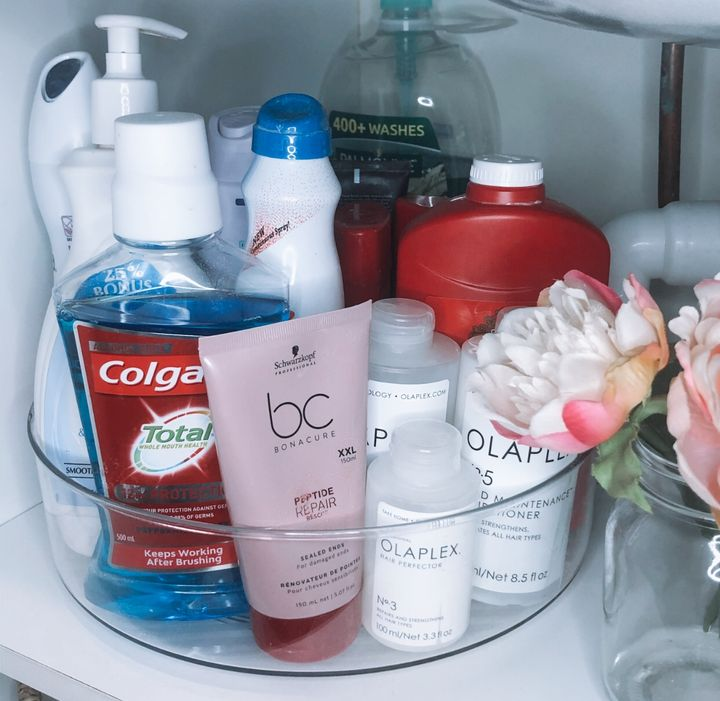 Check Out This Amazing Kmart Under Sink Makeover Home Beautiful Magazine Australia