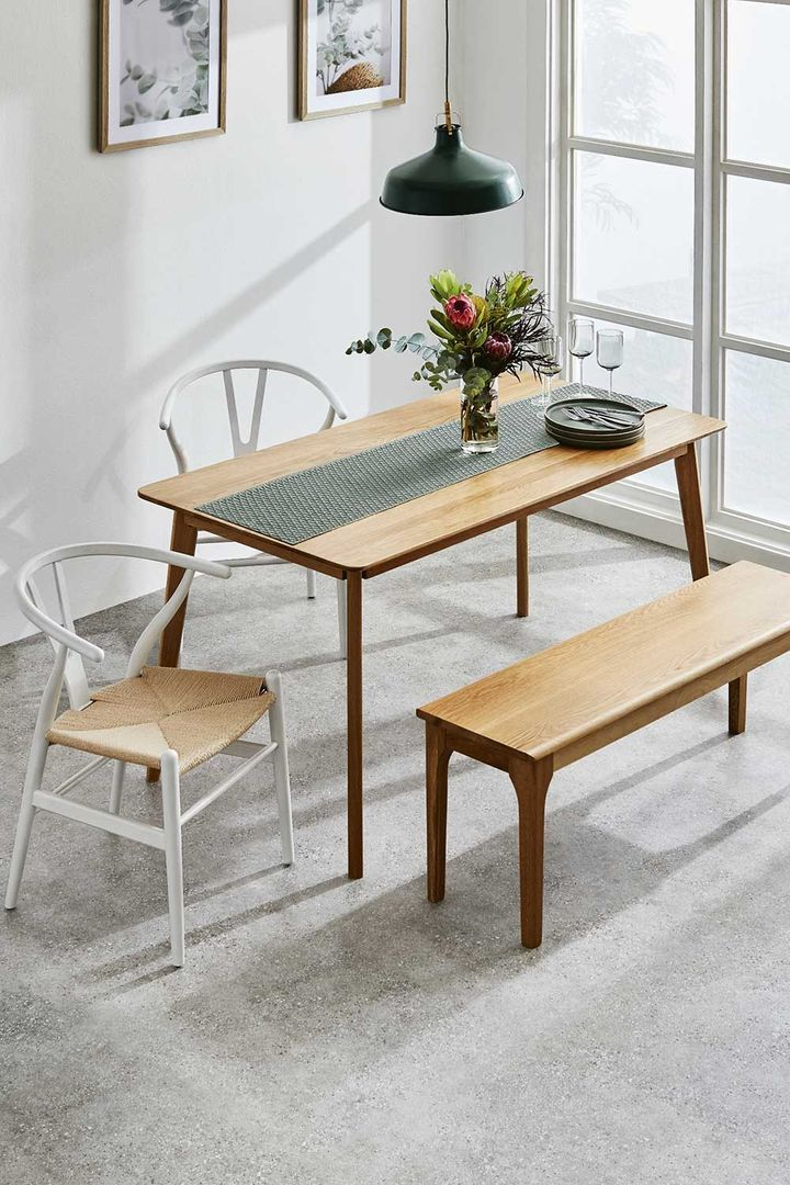 Aldi Has Done It Again With This Scandi Solid Oak Dining Table Home Beautiful Magazine Australia