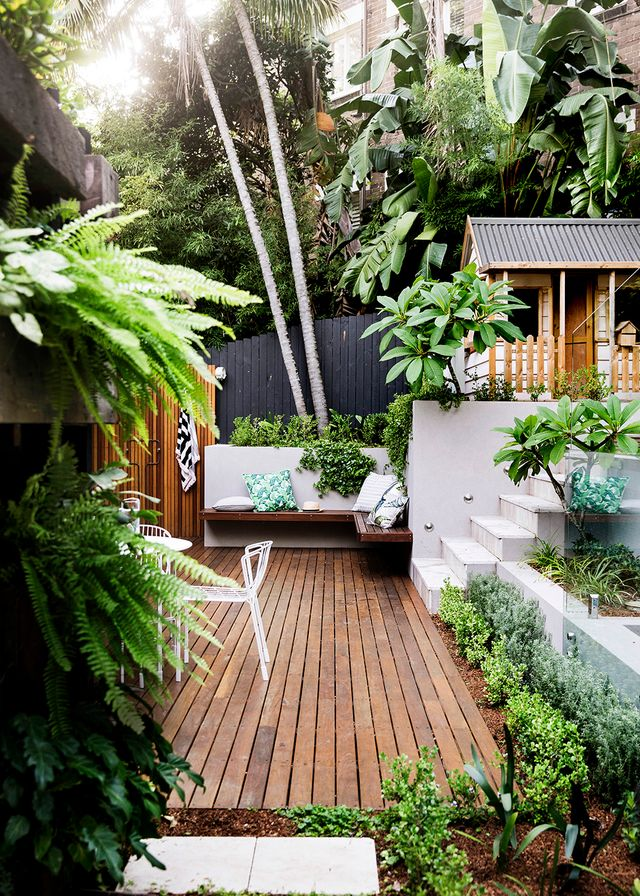 Small garden inspiration home beautiful magazine australia for Inspirational small garden ideas