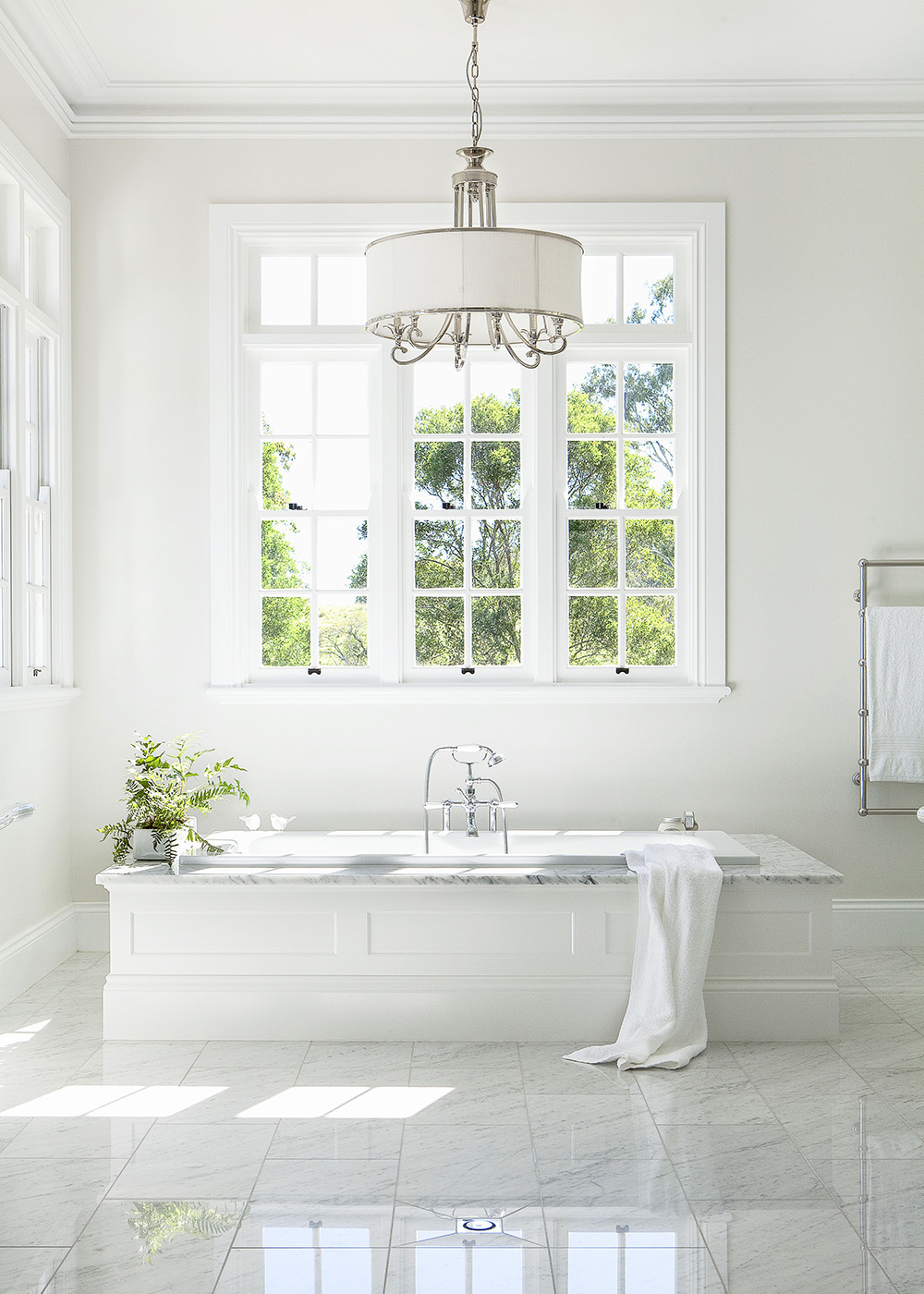 Hamptons-style bathroom | Home Beautiful Magazine Australia