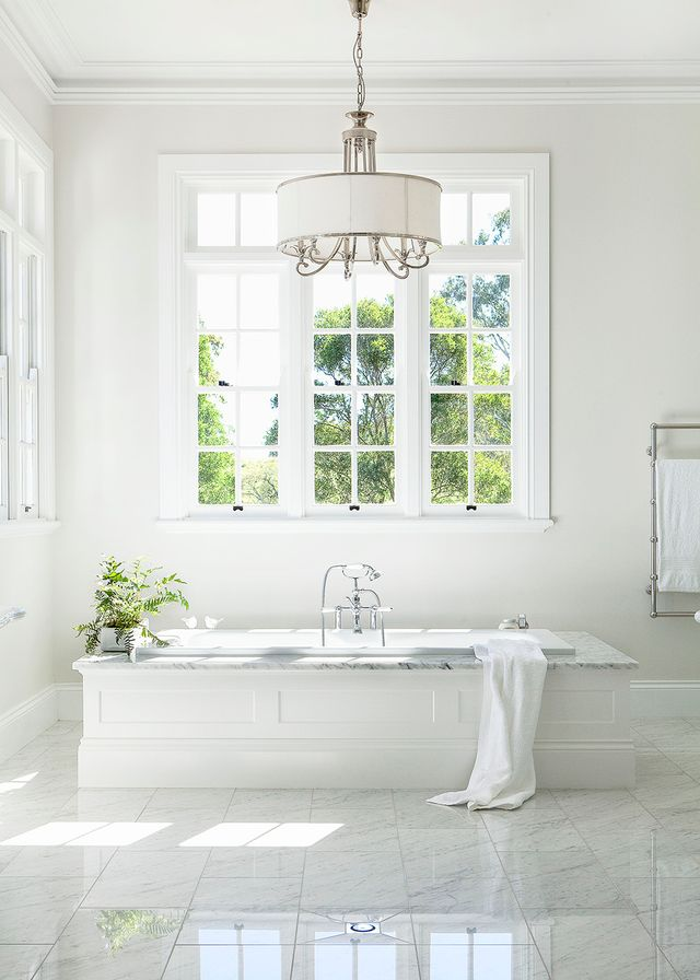 Hamptons Style Bathroom Home Beautiful Magazine Australia