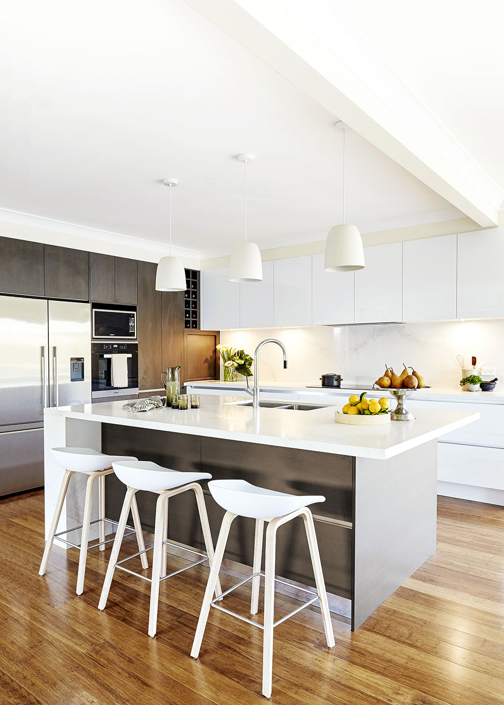 Sydney's Beautiful Bathrooms & Kitchens let this timeless modern kitchen inspire you | home beautiful