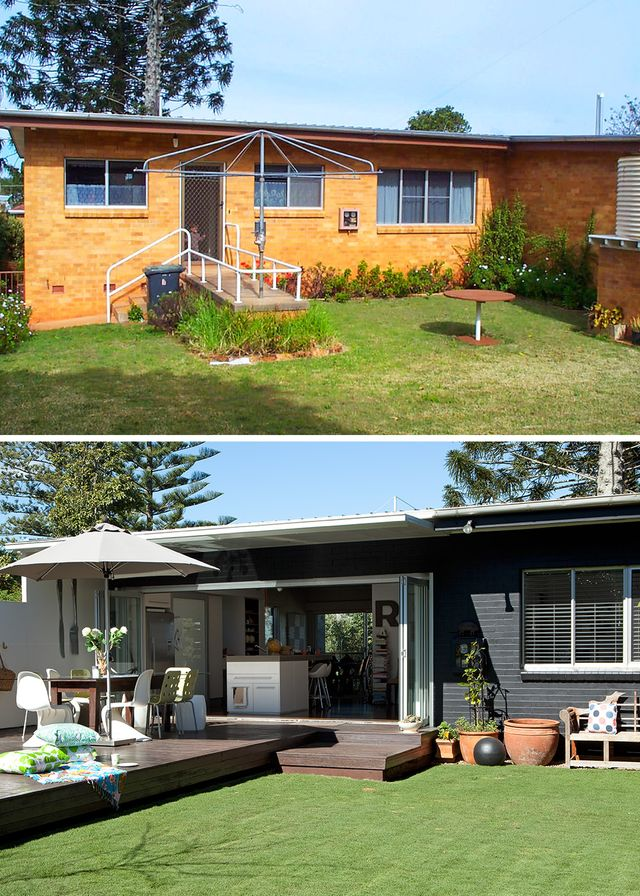 Before and after: A Queensland home comes to light