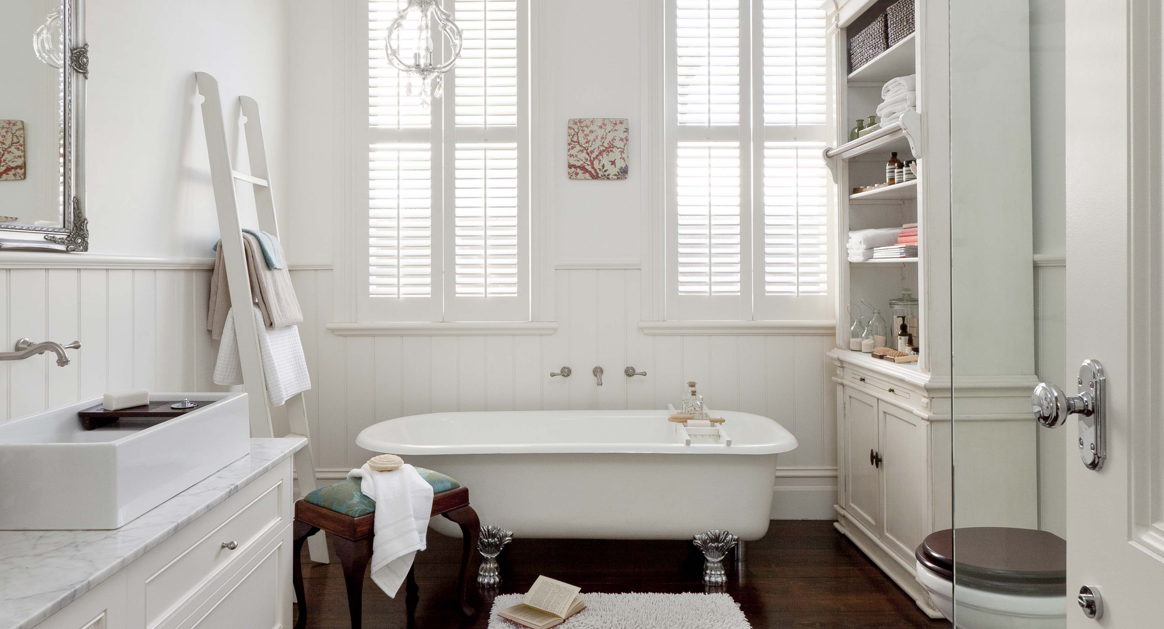 Designing A Vintage Style Bathroom Home Beautiful