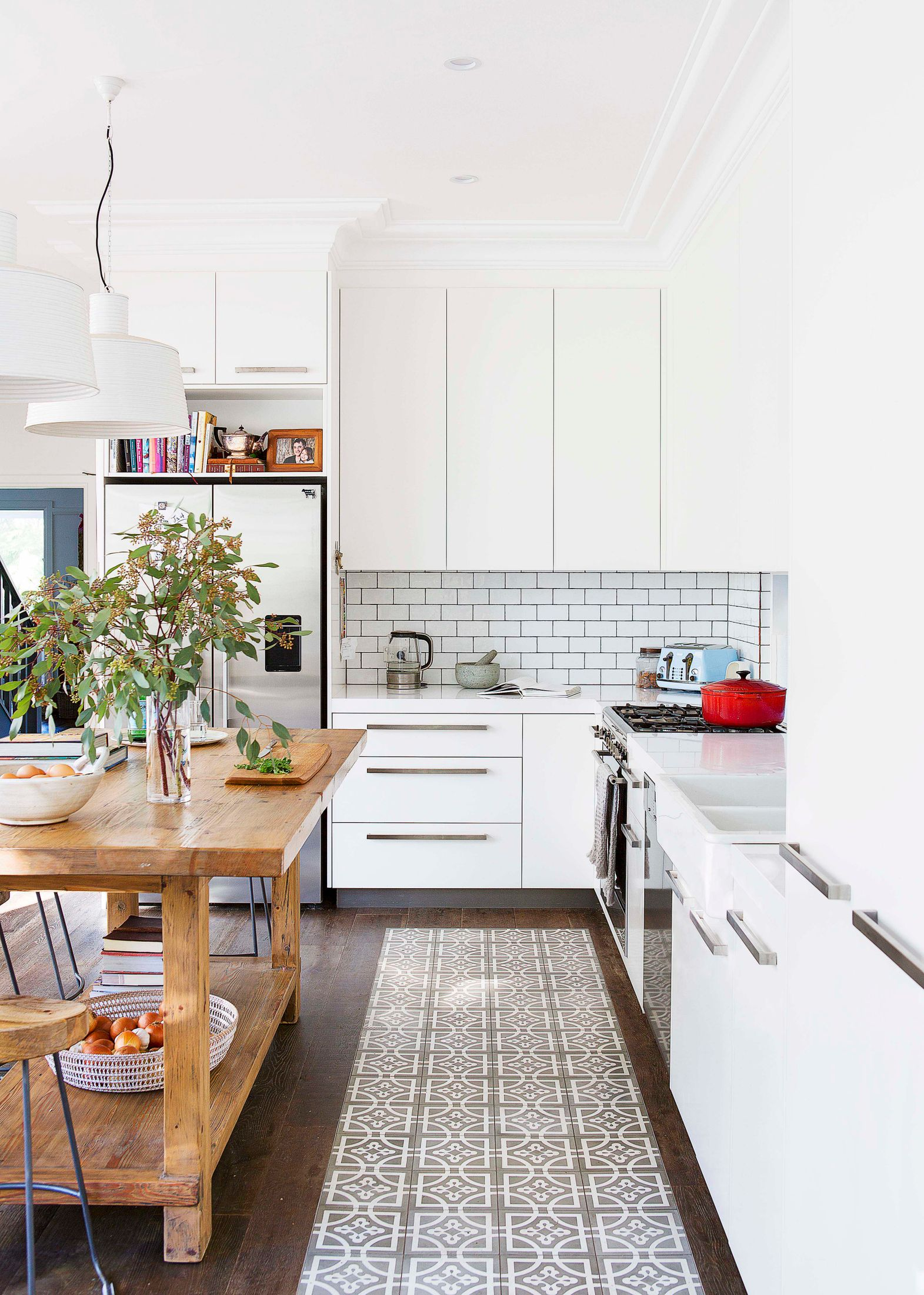 A revamped heritage kitchen comes back to life | Home Beautiful ...