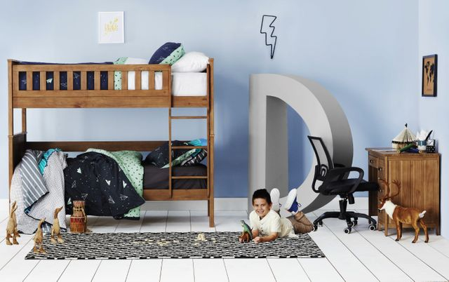 Fresh ideas to decorate a cool kid's bedroom