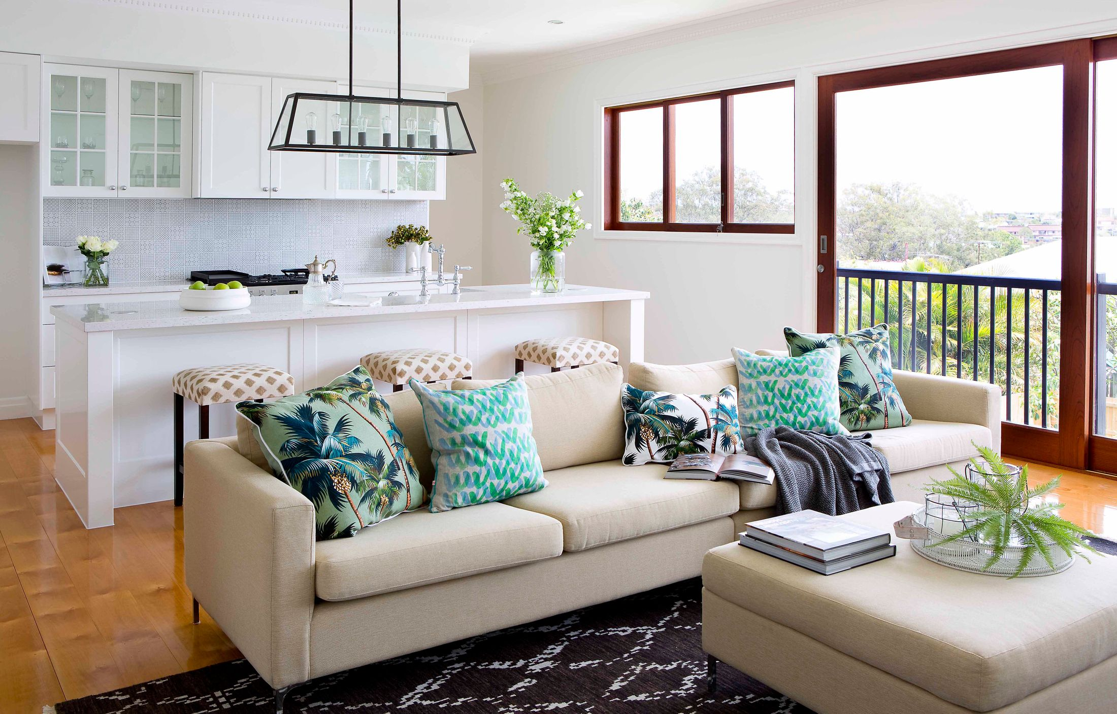 Coming together: Open-plan living rooms | Home Beautiful Magazine ...