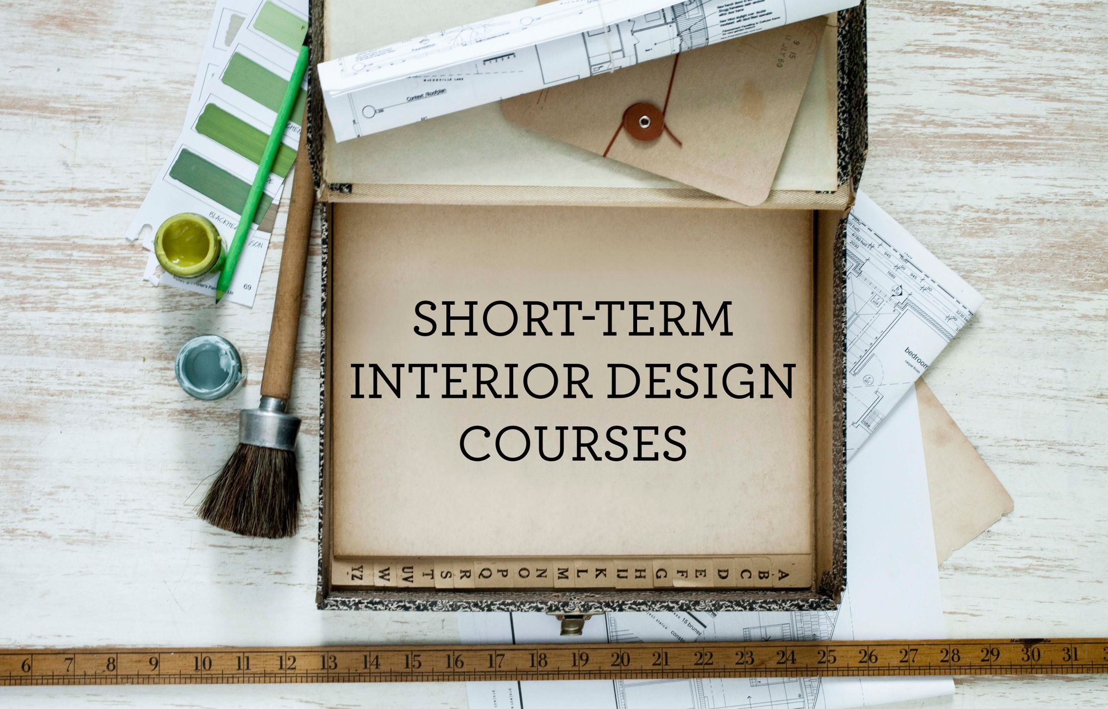 Six Short Term Interior Design Courses You Need To Know