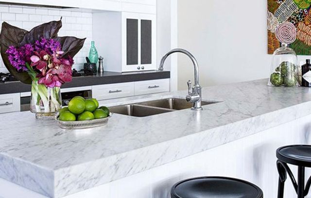 Five Kitchens With Stunning Marble Benchtops Home